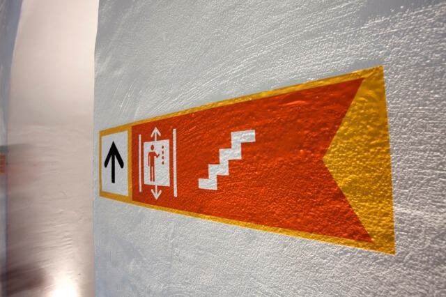 bewegwijzering-scheepvaartmuseum-trap