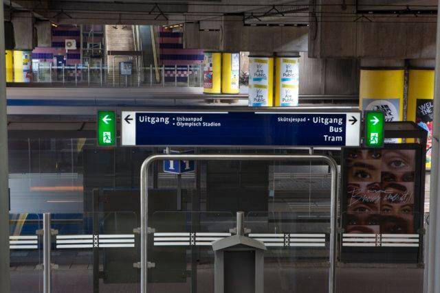 wayfinding-metro-amsterdam-exit-EN